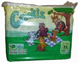 bedruckte Windeln -Crinklz- (10Stk) - Bild vergrößern